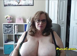 Amateur,big Boobs,granny,masturbation,mature,solo,toys,webcam