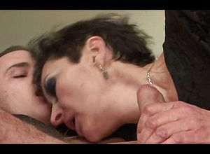 blowjobs,cumshot,granny,hairy,old young,young