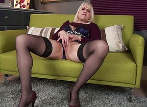Blonde,granny,hardcore,solo,big tits,masturbation,fingering,sexy