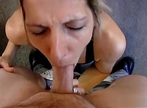 Straight,blowjob,mature,facial,swallow,blonde,deep Mouth