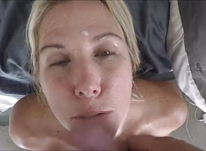 blonde,mature,cumshot,facial,wife,straight,couple